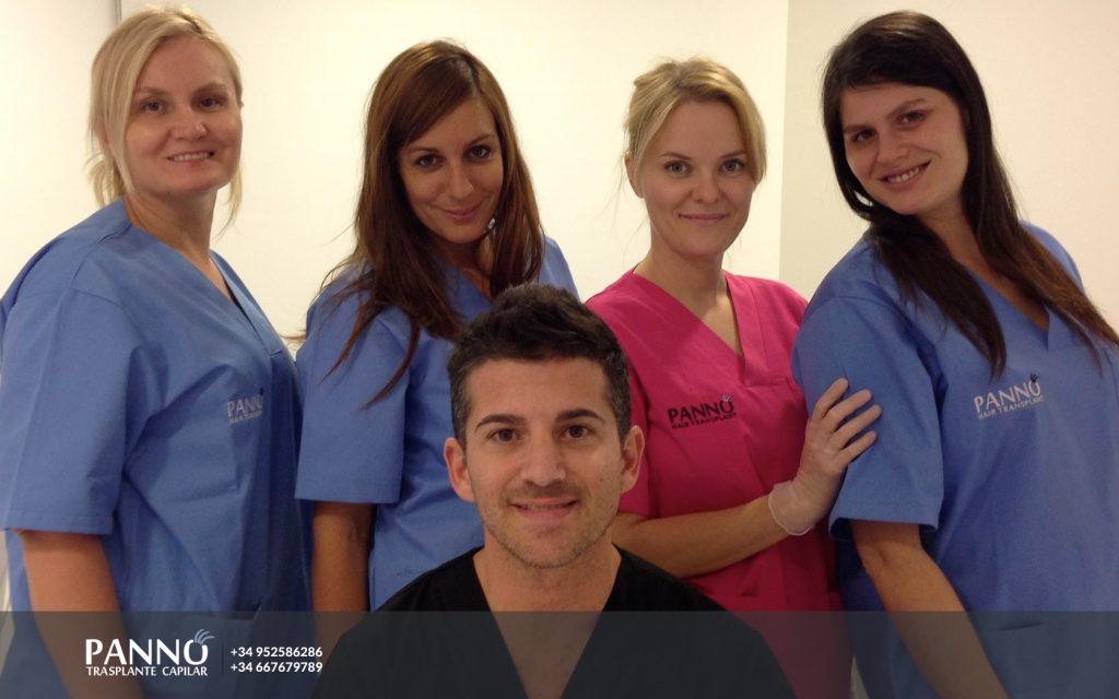 dr-panno-y-enfermeras-clinica-tratamientos-caballo-marbella